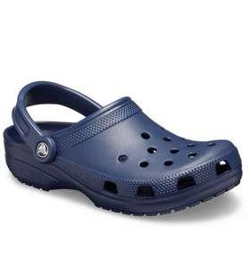 -30% на обувь Crocs classic (напр. синие)
