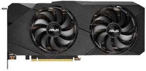 ВидеокартаASUS nVidia GeForce RTX 2080SUPER , DUAL-RTX2080S-O8G-EVO-V2, 8ГБ, GDDR6, OC, Ret