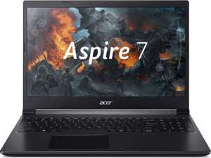 "ACER Aspire 7 A715-75G-56ZT, 15.6"", IPS, Intel Core i5 9300H 2.4ГГц, 8ГБ, 256ГБ SSD"
