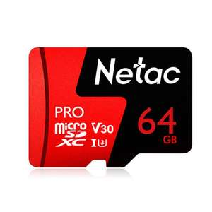 Netac 64GB Pro SDXC 98MBs