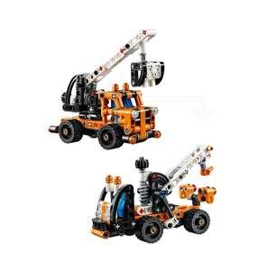Конструктор 2-в-1 LEGO Technic Ремонтный автокран (и эвакуатор) 42088, 7+