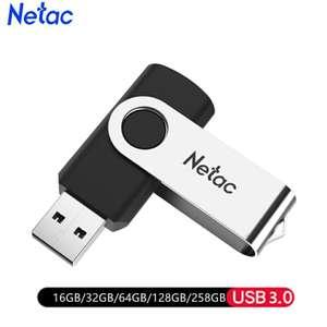 Флешка Netac 32gb металлический USB 3.0