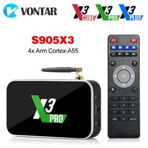 ТВ приставка Ugoos X3 PRO + пульт G21