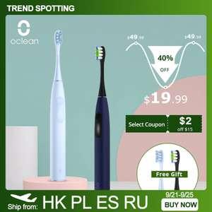 Электрическая зубная щетка Oclean F1 Sonic ($15)