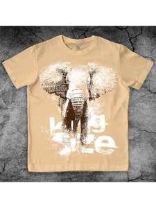 Макс Экстрим, футболка со слоном