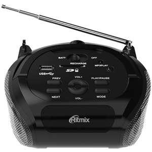 Магнитола Ritmix RBB-100 Black