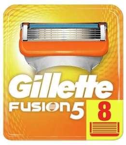 Сменные бритвенные кассеты Gillette Fusion5 8 шт