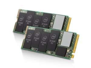 [Из США, нет прямой доставки] Комбо - 2x Intel 665p 1TB PCIe NVMe 3.0 x4 3D3 QLC SSD (SSDPEKNW010T9X1)