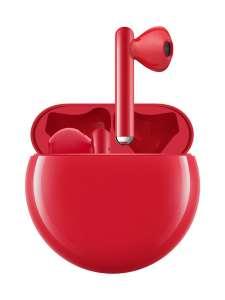 Беспроводные наушники Freebuds 3 (красные)