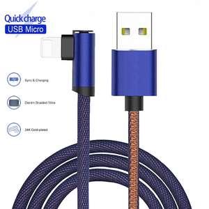 Угловой метровый кабель за US $1.27