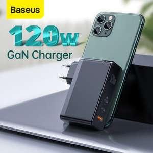 Baseus GaN зарядное устройство 120 Вт.