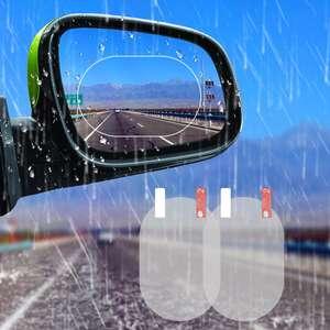 Пленки анти-дождь для зеркал автомобиля