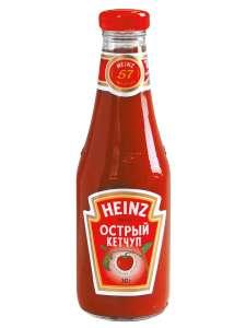 Кетчуп Heinz Острый 342 г. (покупка от 2х штук)