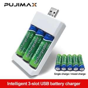 Зарядное устройство для аккумуляторов Pujimax