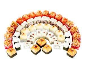 [Москва] Скидка на 1.5 кг суши только сегодня в СУШИWOK