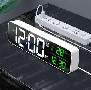 Цифровые часы с будильником Loskii F-8810
