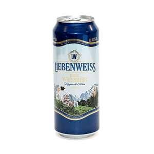 Пиво Liebenweiss Hefe-Weissbier, 0.5л
