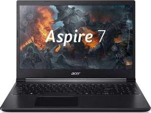 "[Краснодар] Ноутбук ACER Aspire 7 A715-75G-73WN 15.6"", IPS, Intel Core i7 9750H 2.6ГГц, 8ГБ, 256ГБ SSD, NVIDIA GeForce GTX 1650 - 4096 Мб"
