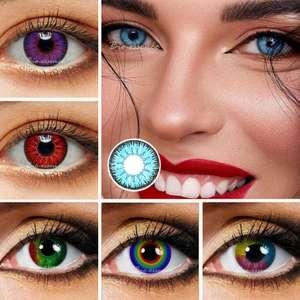 Цветные контактные линзы , 2 шт.