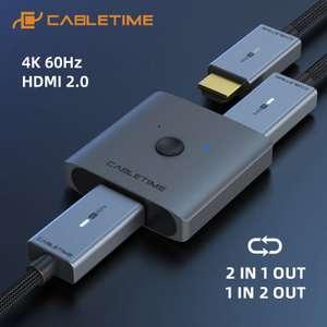 HDMI сплиттер 4K 60Hz