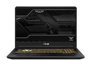 "Ноутбук ASUS TUF Gaming FX705DT-H7118, 17.3"", IPS 120Гц, AMD Ryzen 5 3550H , 8ГБ(1 планка свободна), 512ГБ SSD NVMe, GTX 1650 , noOS"