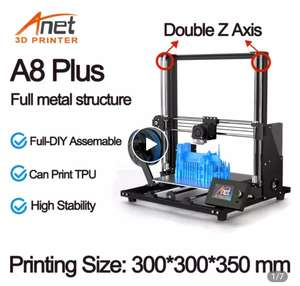 3D принтер Anet A8 Plus (DIY версия) за 189.29$