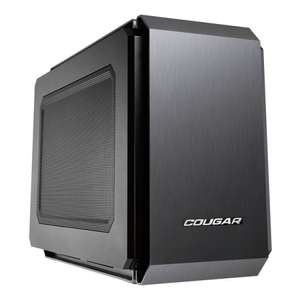 Компьютерный корпус COUGAR QBX Black (3950 c промокодом)