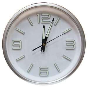 Часы настенные Arte Nuevo со светящимися цифрами и стрелками, 30 см