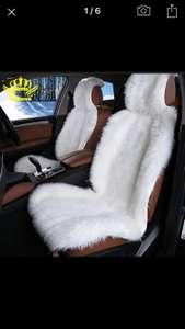 Меховые накладки на кресла авто