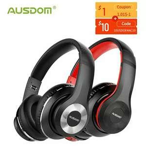 Bluetooth наушники Ausdom ANC10 с активным шумоподавлением