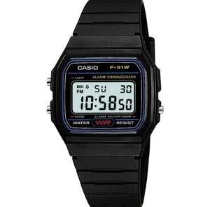 Цифровые часы Casio F-91W-1dg