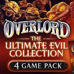 [PC] Overlord: Ultimate Evil Collection (все игры серии) за 1$ для Steam