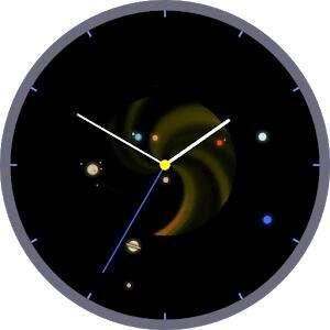 Space Watchface and Widget (Часы с отображением расположения планет)