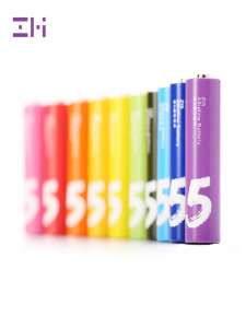 Батарейки Xiaomi ZMI ZI5 Rainbow AA, 10 шт или ZI7 AAA, 10 шт