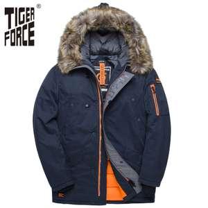 Куртка мужская зимняя аляска TIGER Force