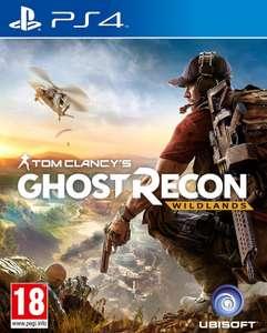 Видеоигра для PS4 . Tom Clancy's Ghost Recon Wildlands