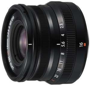 Объектив Fujifilm XF16mm f/2.8 R WR