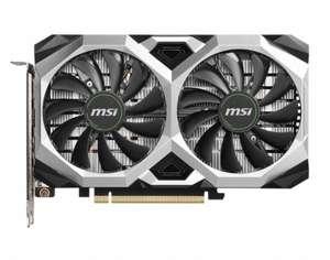 Видеокарта MSI Nvidia GeForce RTX 2060SUPER RTX 2060 Super Ventus XS C OC 8ГБ GDDR6 OC Ret