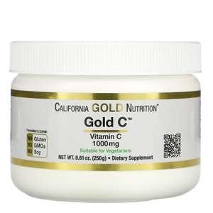 10-15% на витамины С (например, Порошок Gold C, 250 г)