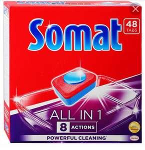 Таблетки для ПММ Somat 48 4in1