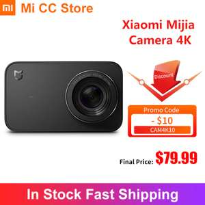 Экшн камера Xiaomi Mijia 4К