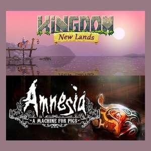 [PC] Kingdom New Lands и Amnesia: A Machine for Pigs бесплатно до 22 октября