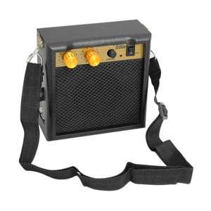 Портативный мини-гитарный усилитель Amp Speaker 5W с 3,5-миллиметровым выходом для наушников за 17.99$