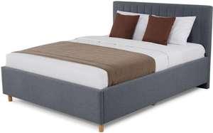 Кровать с подъёмным механизмом Garda (напр. темно-серый, 140x200)