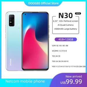 Смартфон Doogee N30 (4/128Gb, 4500 мАч)