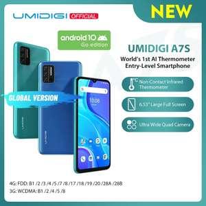 Смартфон UMIDIGI A7S (2/32 Гб, 4150 мАч)
