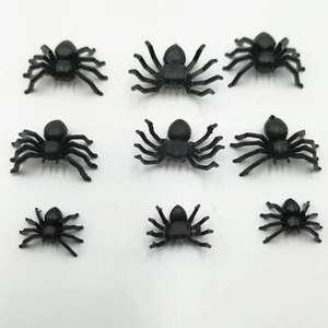 ПВХ 3D настенное украшение в виде пауков (набор из 12 шт)