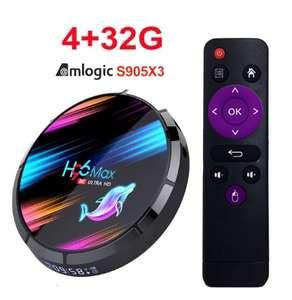 Android TV-приставка H96 Max X3 [S905X3, 4/32, 2,4/5 Ghz]