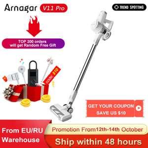 Беспроводной пылесос Arnagar V11 PRO Wireless Handheld Vacuum Cleaner
