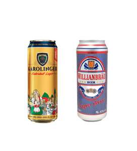 Импортное пиво в Бристоль напр. Karolinger (Германия) и Wilianbrau (Бельгия)